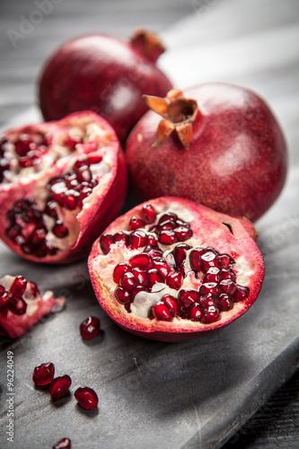 Red juice pomegranate #96224049