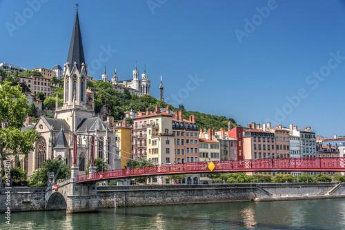 Fotografie, Tablou Lyon, colline de Fourvière