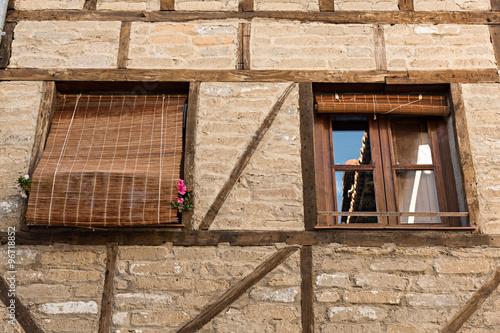 Casa típica en Hervás, Cáceres.