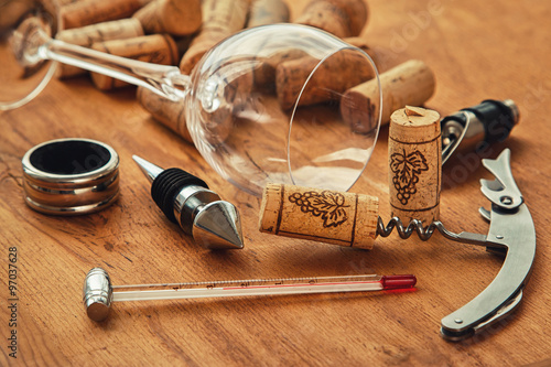 Different wine tools