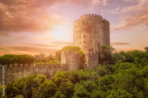 Canvas Print Rumeli Fortress  at Istanbul,Turkey
