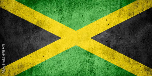 flag of Jamaica Fototapeta