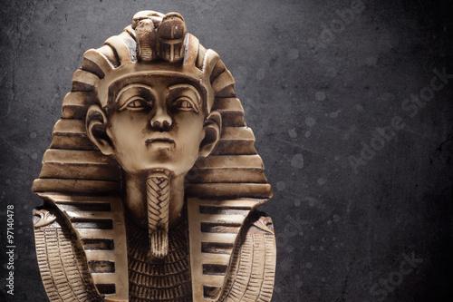 Obraz na plátně Kámen faraon Tutanchamon maska