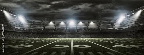 Canvas Print American soccer stadium