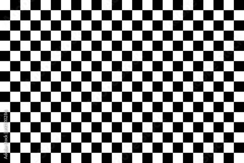 Fotografie, Tablou Seamless pattern chessboard
