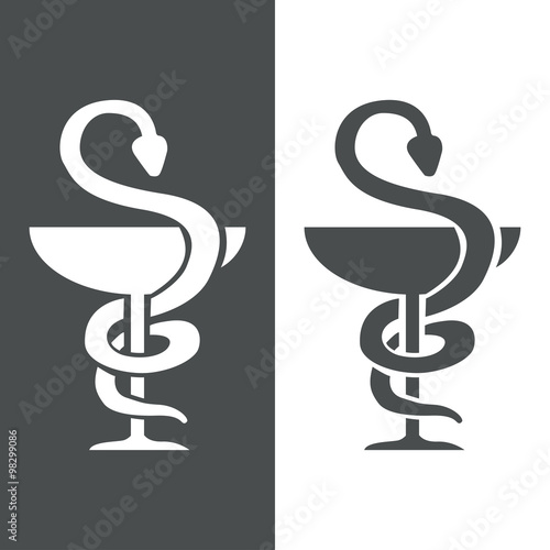 Icono plano farmacia #1 #98299086