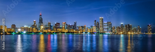 Fototapeta premium Chicago Style Skittles