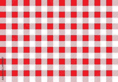 Fotografia Seamless picnic pattern
