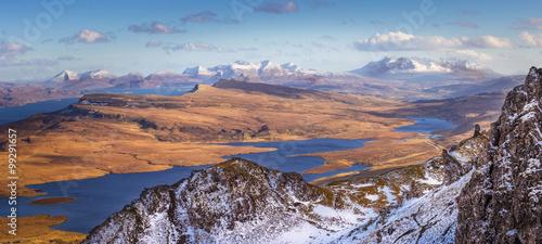 Obraz na płótnie The Scottish Highlands