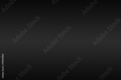 Leinwand Poster Chromkohlenstofffaser mit schwarzer Steigungsfarbe, Hintergrund und Beschaffenhe