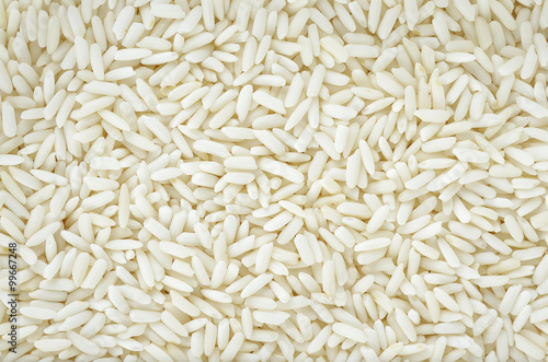 Close up rice background for texture