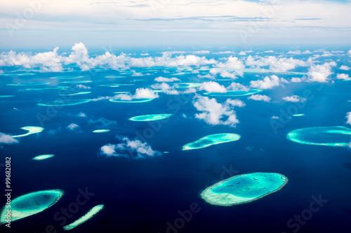 Fotografie, Obraz Maldives Indian Ocean