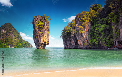 Stampa su Tela James Bond island near Phuket in Thailand