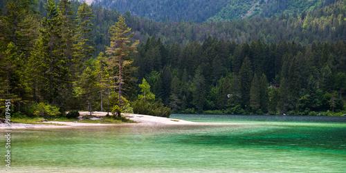 Photographie Tovel lake, Dolomites