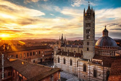 Obraz na plátně Siena