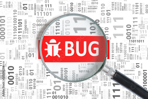 Canvas Software development and debugging concept