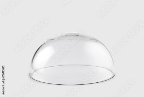 Empty transparent glass dome Fototapete