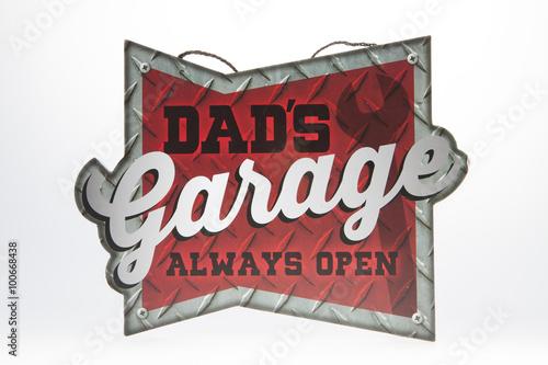 Photo Dad's Garage