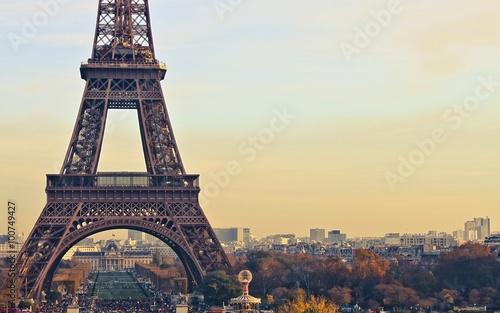 Fototapeta paris france eiffel tower