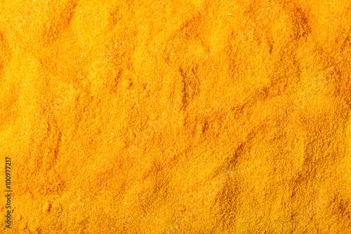 Canvas-taulu curry spice powder