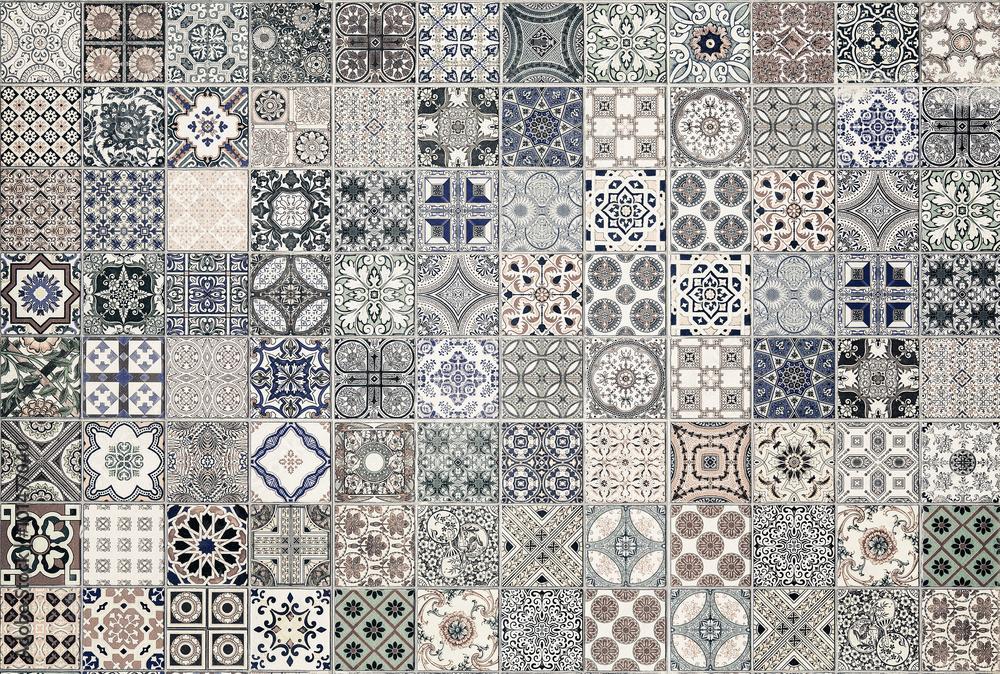 wzory płytek ceramicznych z Portugalii. <span>plik: #101477040   autor: subinpumsom</span>