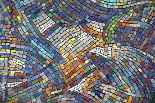 Wallpaper Mural Ceramic mosaic background