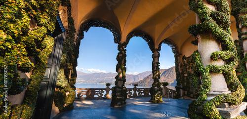 Wallpaper Mural The park of Villa Balbianello in Lenno, Lake Como, Italy