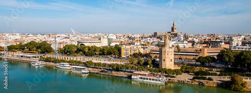 Fototapeta premium Panorama Sewilli