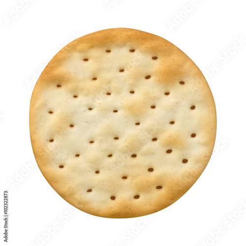 Vászonkép Single Round Water Cracker