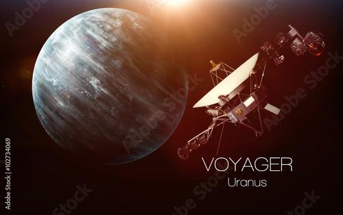 Fotografia, Obraz Uranus - Voyager spacecraft
