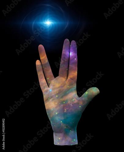 Fotografia Live Long and Prosper
