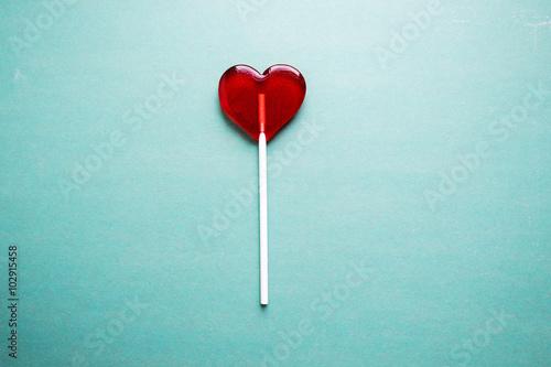 Wallpaper Mural broken heart lollipop