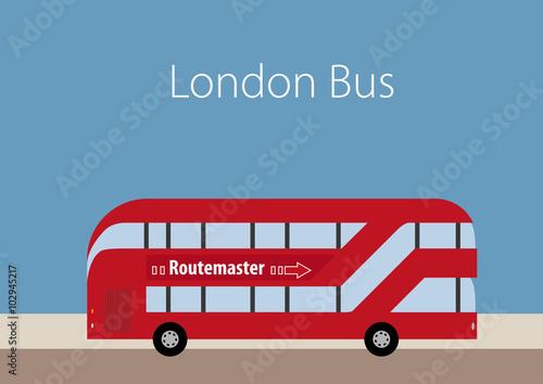 Платно Stylish London drawings