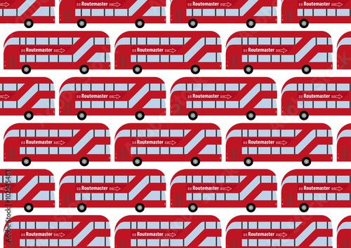 London Routemaster as wallpaper фототапет