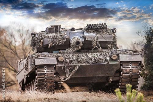Valokuvatapetti Kampfpanzer Deutschland, main battle tank germany