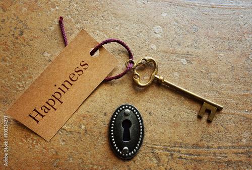 Key to Happiness Fototapet