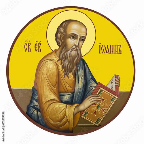 Obraz na plátně holy Evangelist John the Theologian