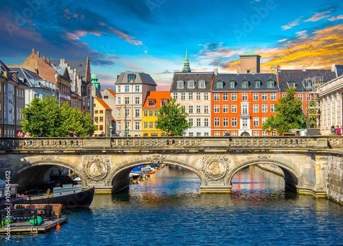 Canvas Print Copenhagen, Denmark