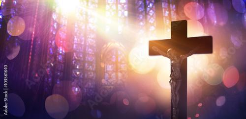 Crucified Christ - Symbol Of Faith Catholic