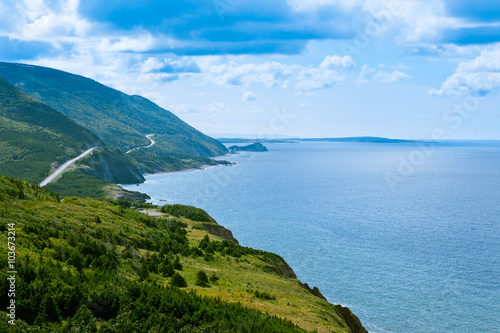 Wallpaper Mural Cabot Trail highway Cape Breton NP NS Canada