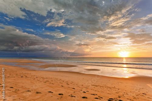 Fotografie, Obraz Sunset ebb