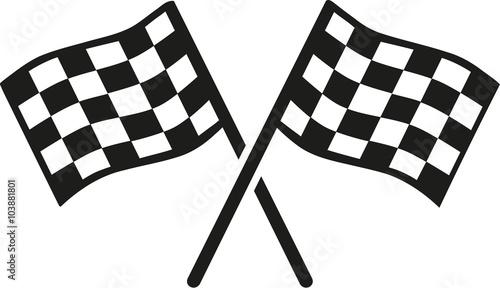 Fotografía Kartracing goal flags