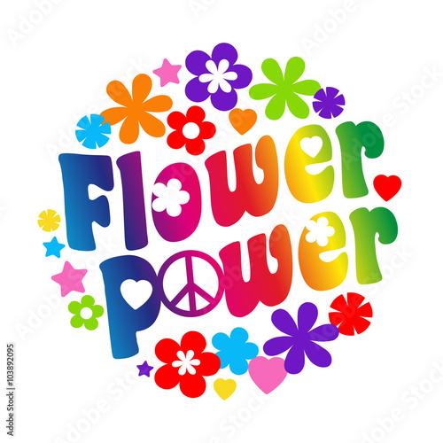 Fototapeta Flower power