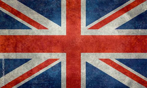 Photo National flag of the United Kingdom, the Union Jack 3:5 scale