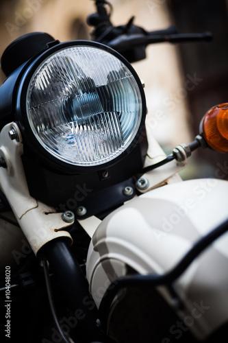 Classic motorcycle headlight