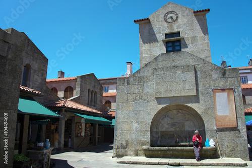 Markthallen Abastos in Santiago de Compostela Fototapete