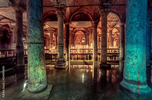 Photo Basilica Cistern in Istanbul