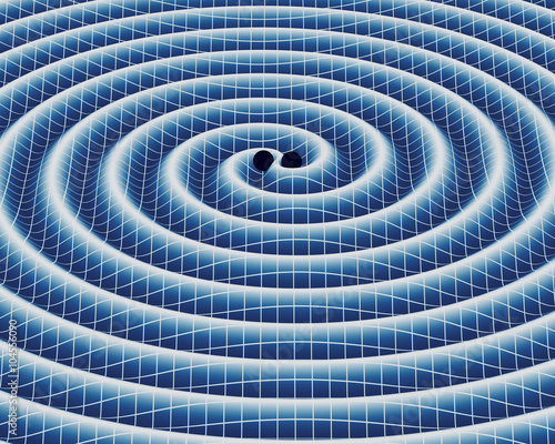 Obraz na plátne Gravitational Waves