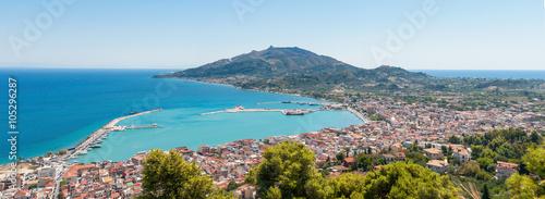 фотография Panoramic view of Zakynthos city