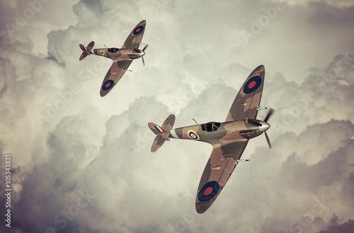 Valokuva Battle of Britian scene